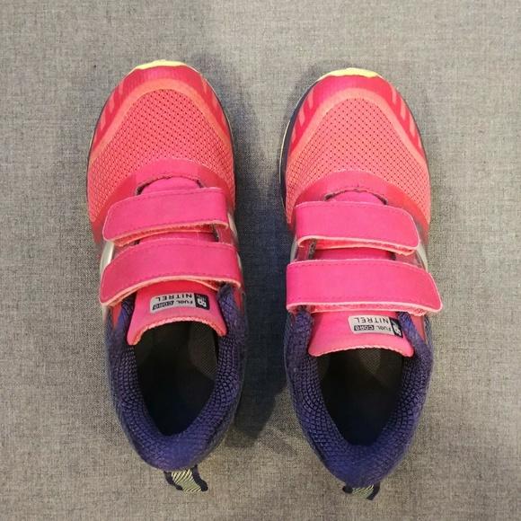 New Balance Other - Girls 12 New Balance Pink & Purple Velcro